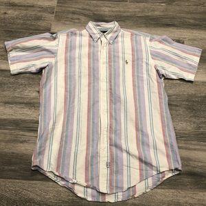 Ralph Lauren stripe Cotton Candy Colorway Shirt